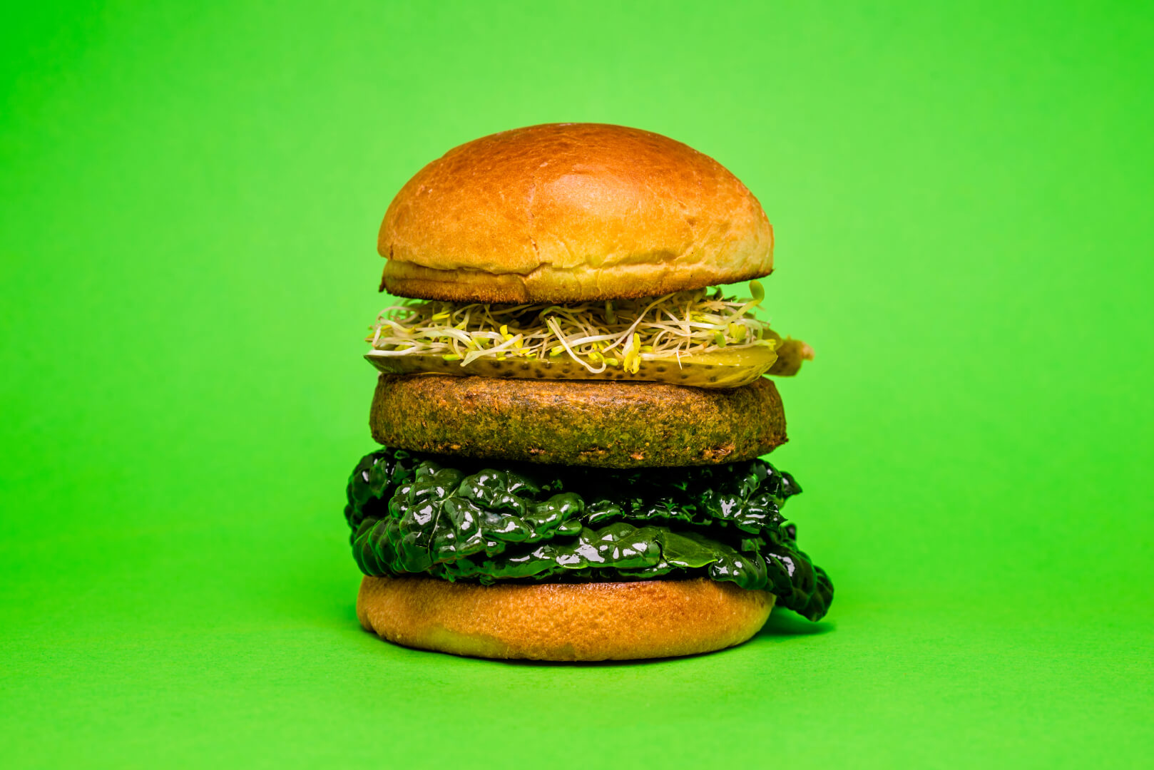 Spinach & Kale Burger