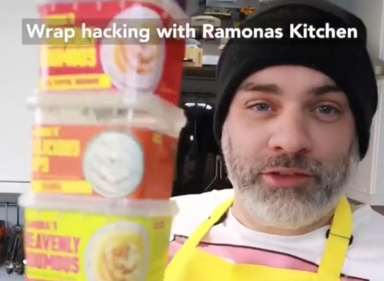 Wrap Hacking with Ollie Eats